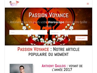 Horoscope astrologie tarot - passion voyance